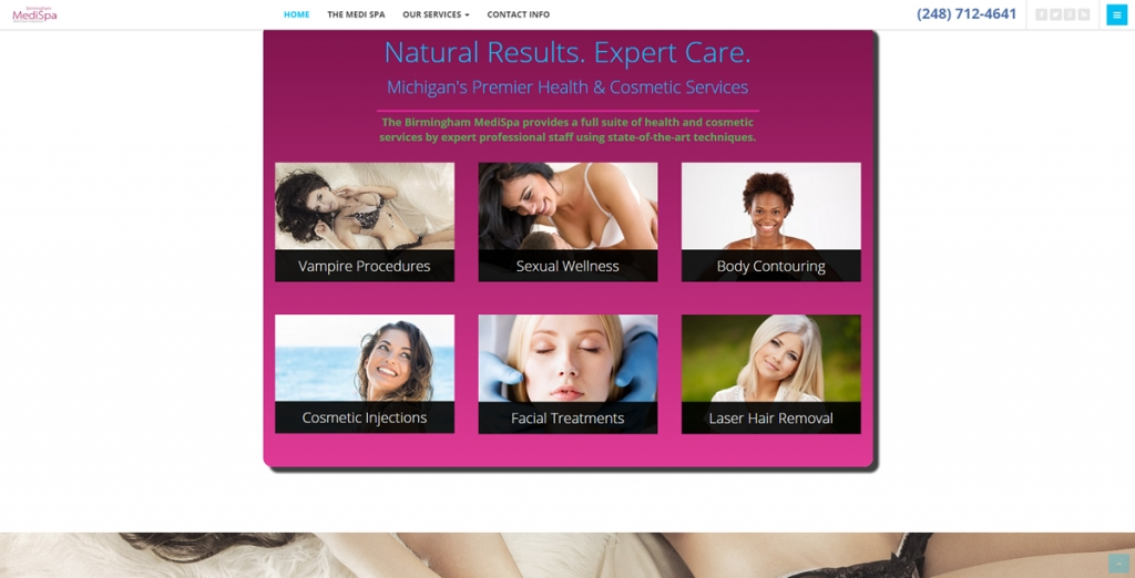 Birmingham MediSpa - New Website